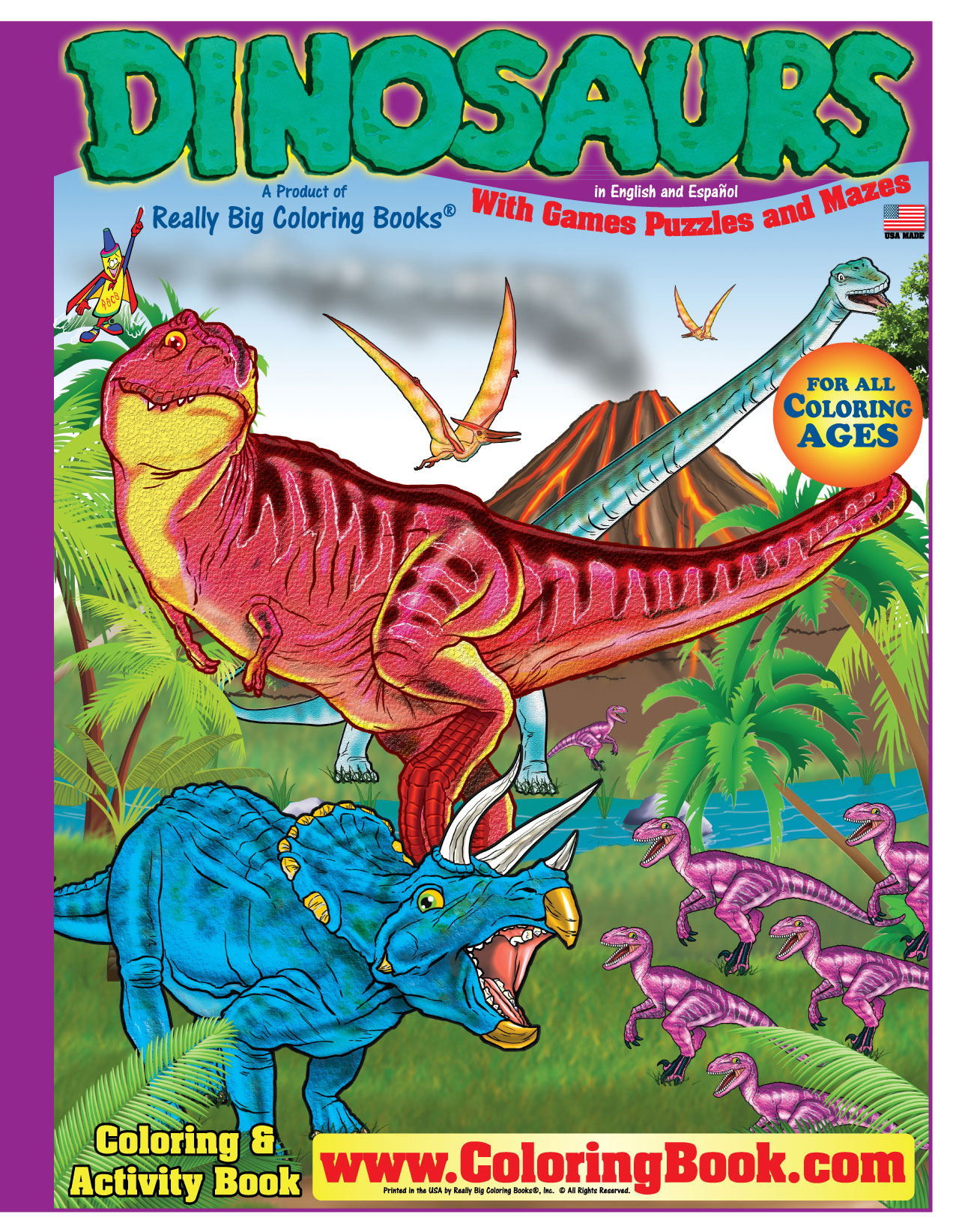 Coloring Books | Really Big Coloring Books Retail Display
