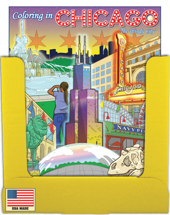 Chicago Coloring Book PDQ