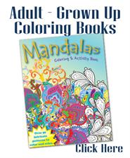 Adult - Grown Up Coloring Books