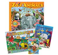 Pre-Packed sets of Coloring Books