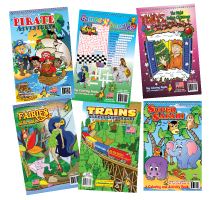 Travel Tablet Coloring Books