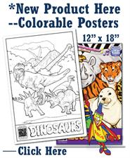 Colorable Posters