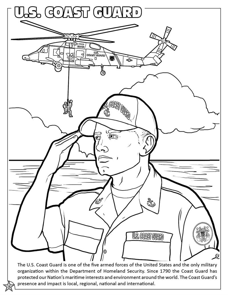 us national guard coloring pages - photo#4