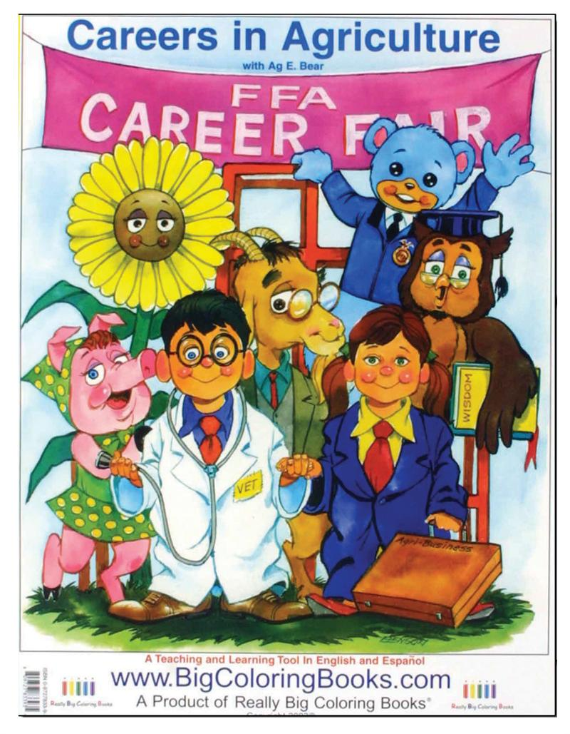 Coloring Books | Vintage Careers in Agriculture
