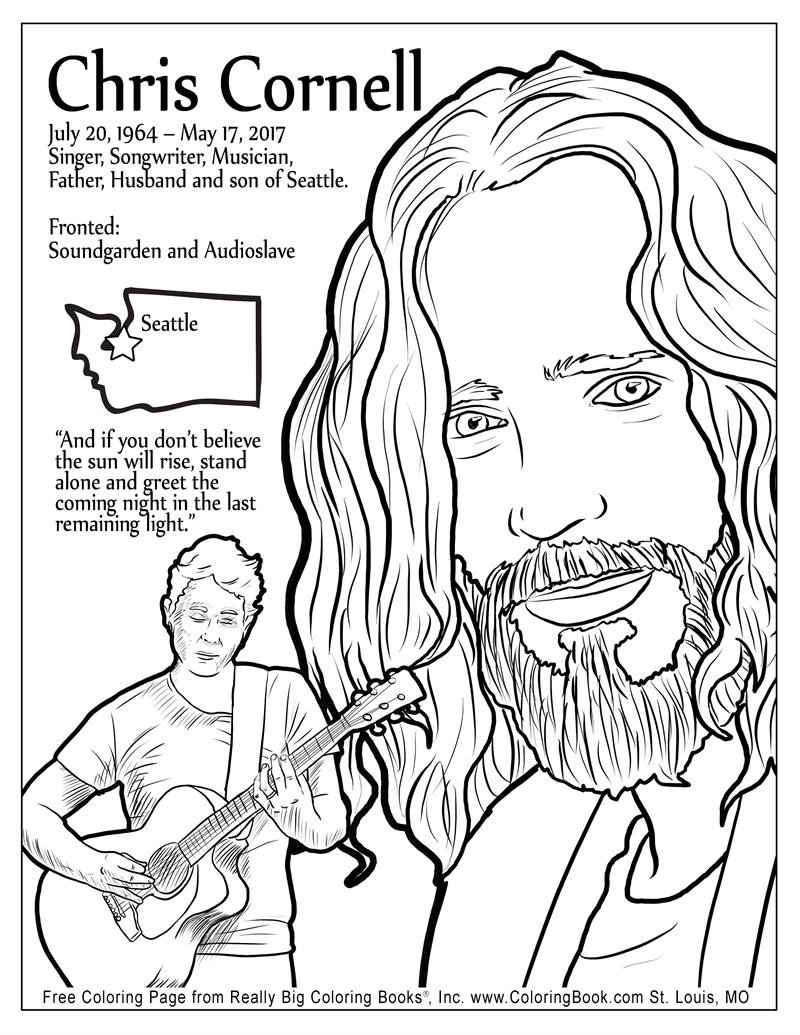 coloring books chris cornell free online coloring page