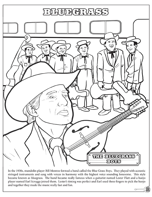Coloring Books   Country and Western A Gold Standard Coloring and ...