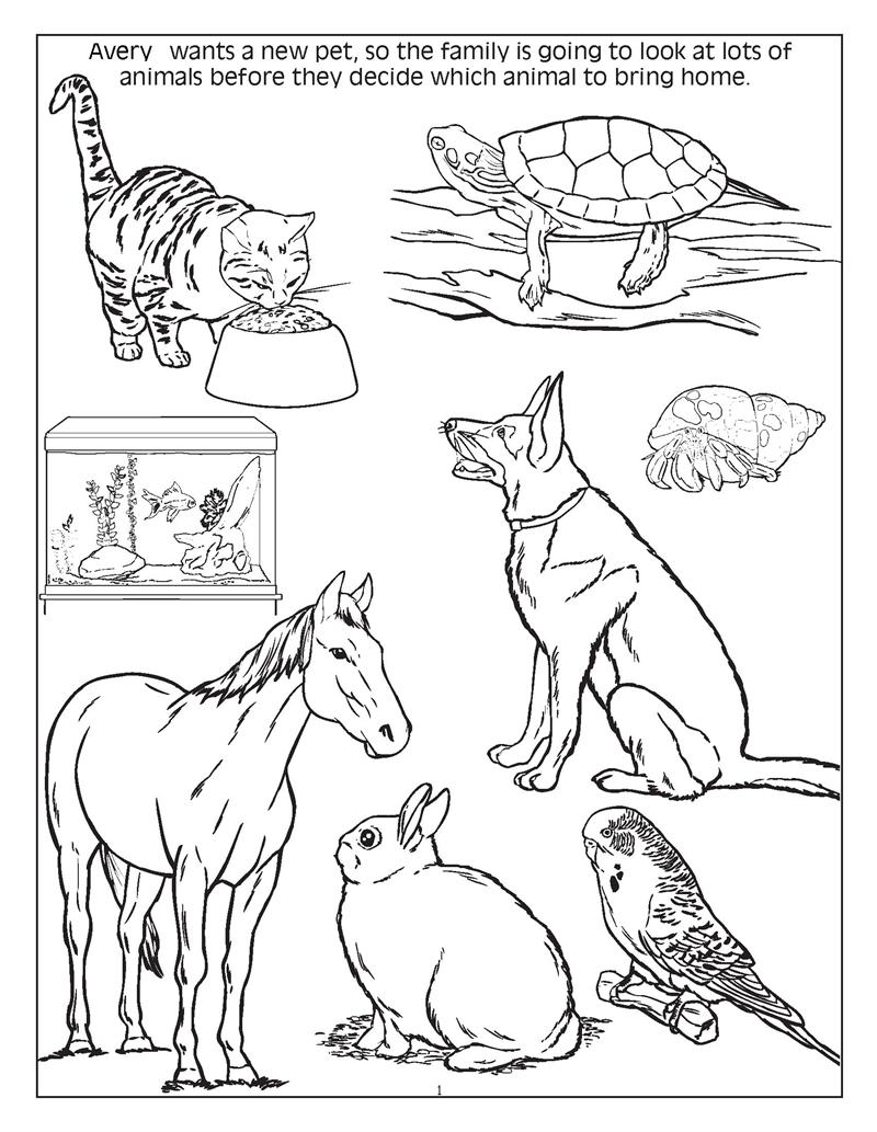 The Gallery For Gt Dog And Cat Coloring Pictures