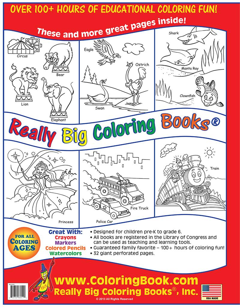 coloring books the early years really big giant coloring book