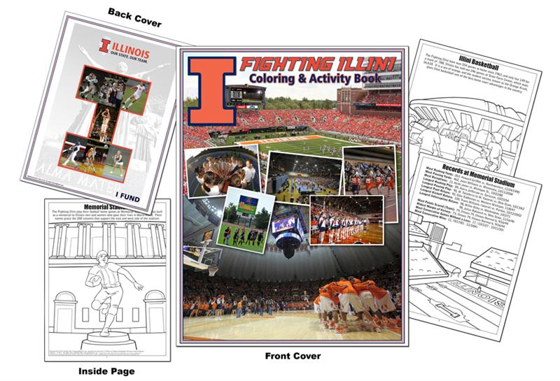 illini coloring pages - photo#10