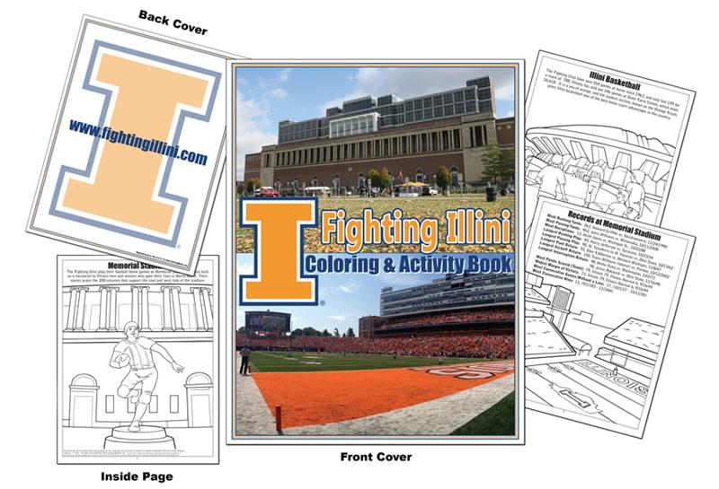 illini coloring pages - photo#2