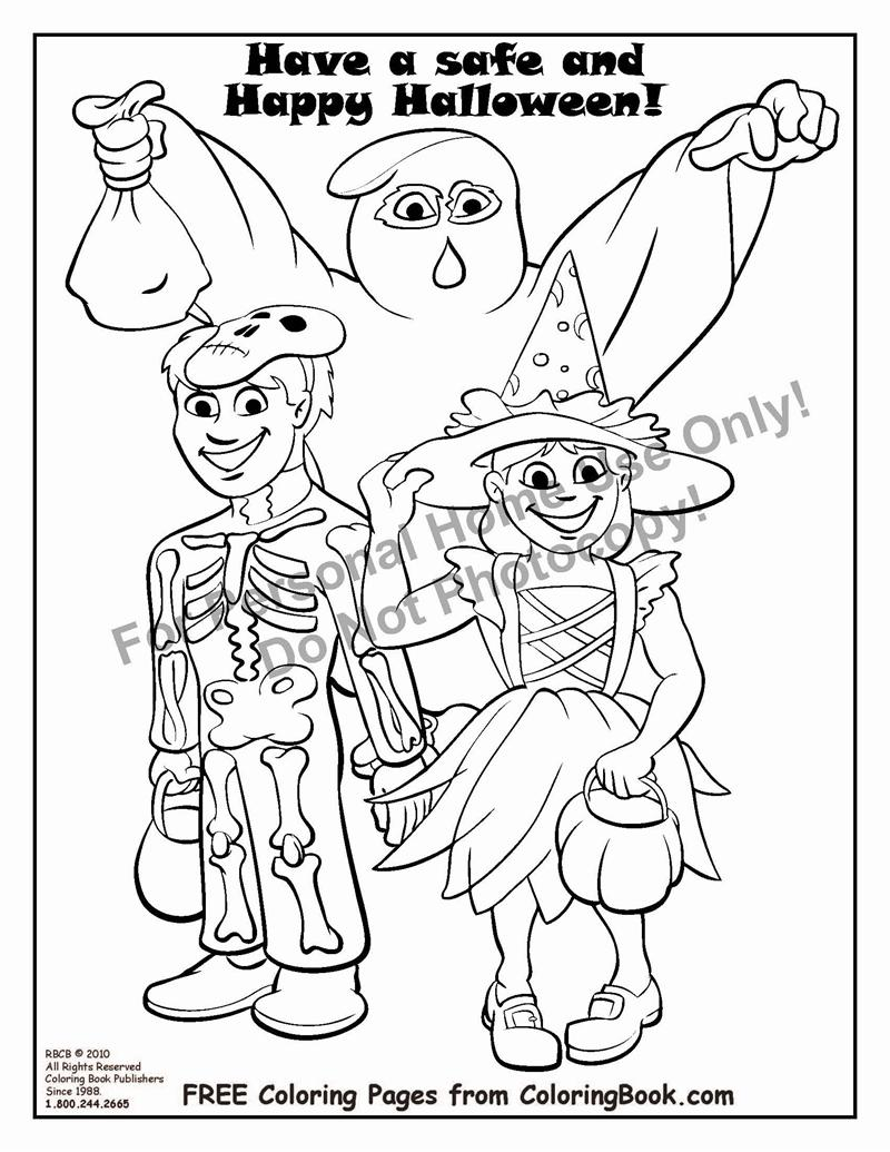 Online coloring halloween - Free Online Coloring Pages Halloween