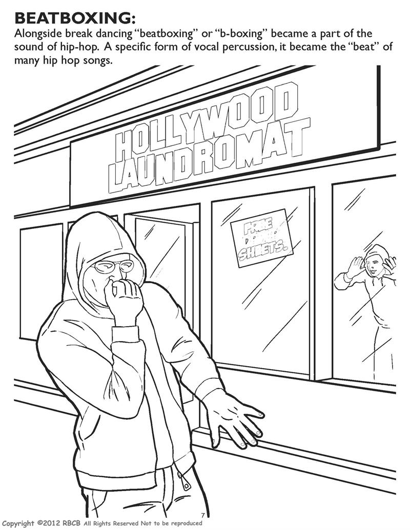 rap star coloring pages - photo #30