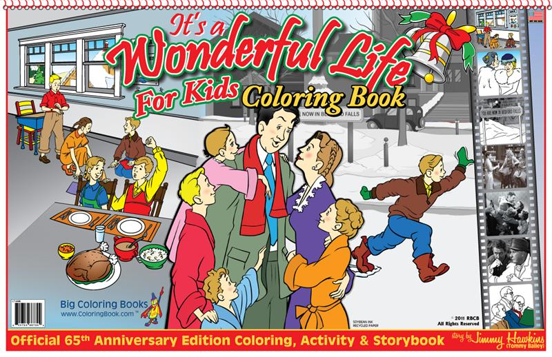 Coloring Books It 39 S A Wonderful Life For Kids Laptop