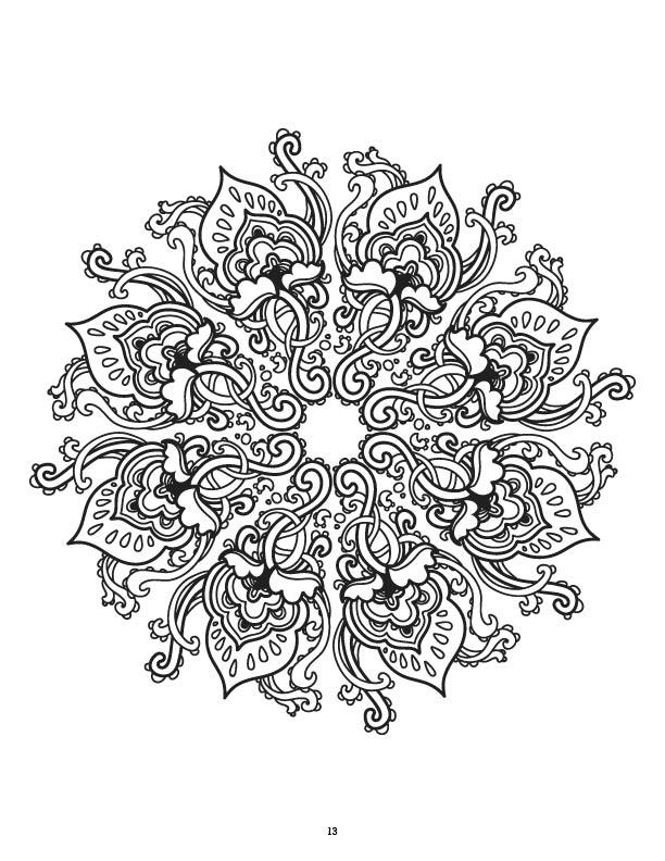 Coloring Books Mandalas Coloring Book