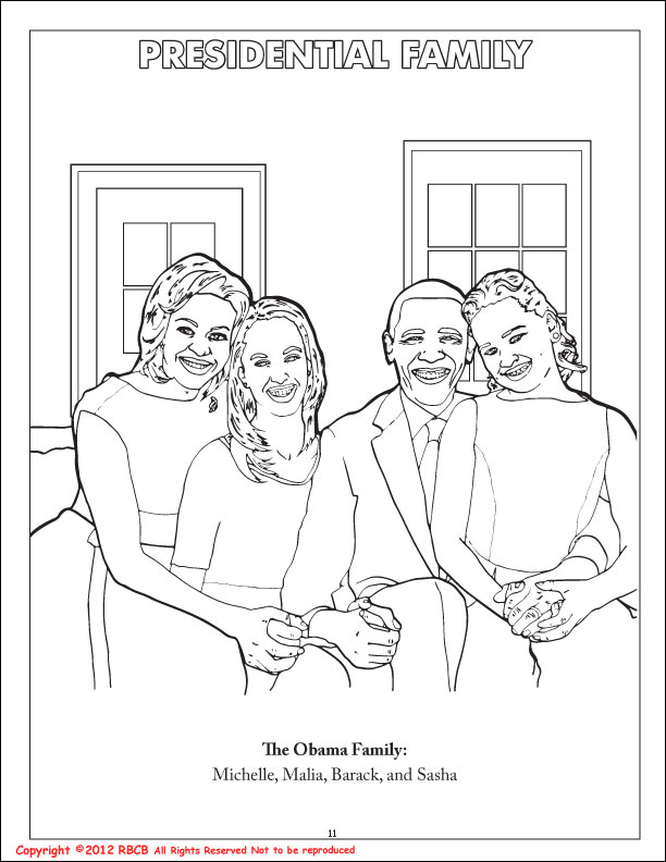 the first family coloring pages - photo#46