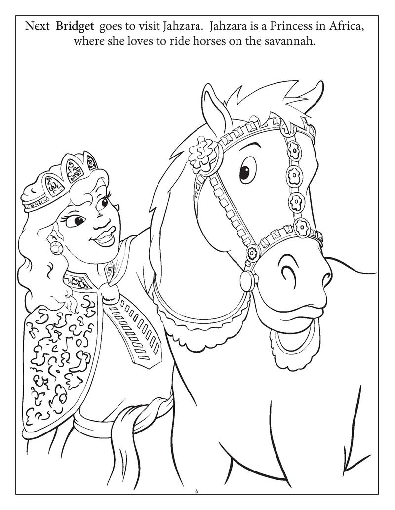 Coloring book princess - Personalized Princess Playdate Coloring Book 8 5 X 11