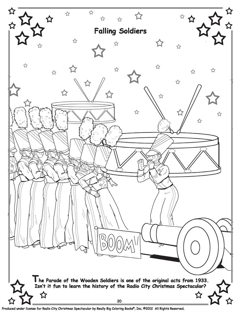Coloring Books Official Radio City Christmas Spectacular