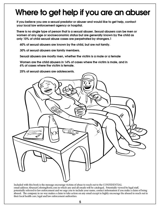 Coloring Book | Sexual Misconduct - Name Them and Shame ...