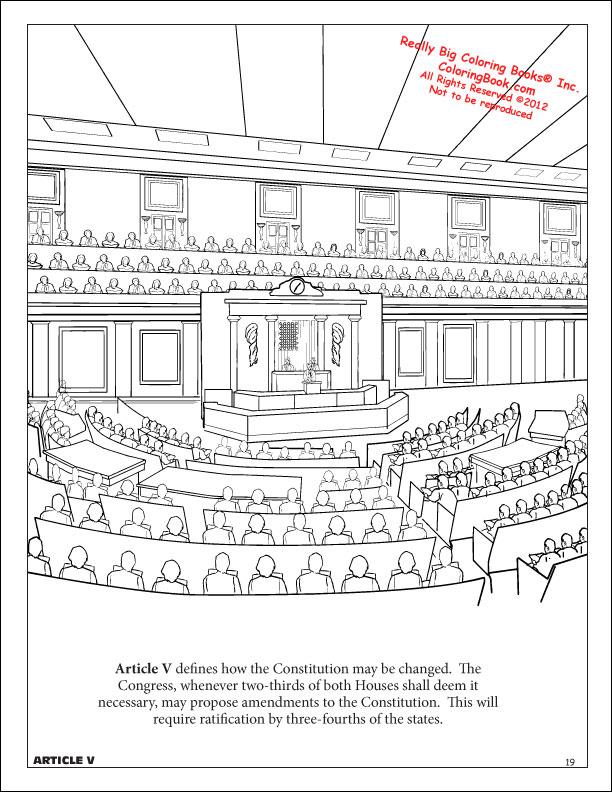 coloring pages for constitution day - photo#18