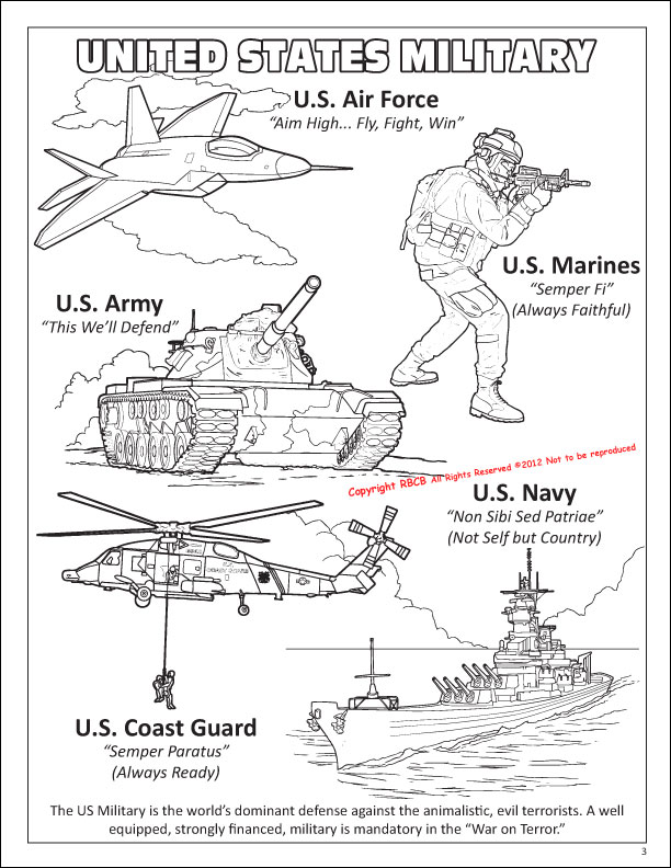 coloring pages united states army - photo #13