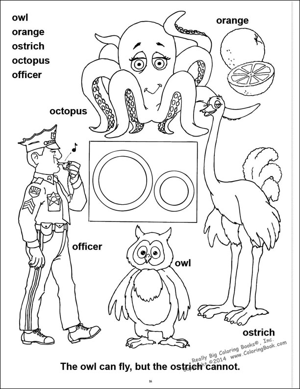 Coloring Pages Abc 123 : Free abc book cover coloring pages