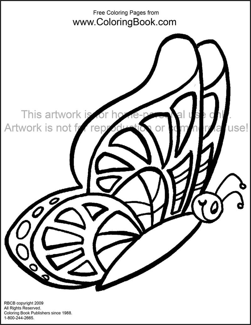 Coloring Pages | Free Online Coloring Pages-Butterfly