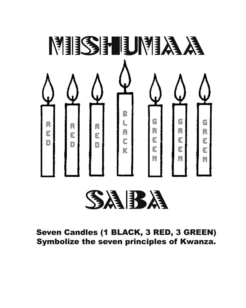 kwanzaa coloring pages with kwanzaa coloring page happy candles