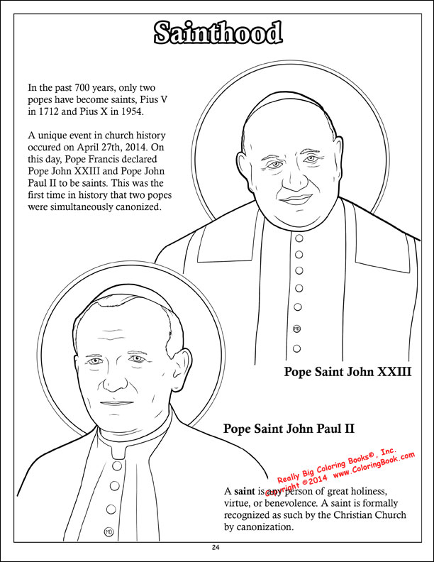 Coloring Books  Pope Francis Coloring  Activity Book