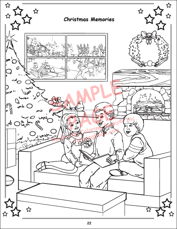 Coloring Books Radio City Christmas Spectacular starring