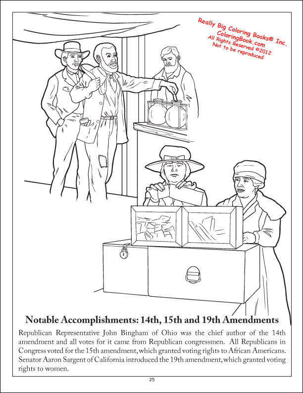 amendments coloring pages - photo#1
