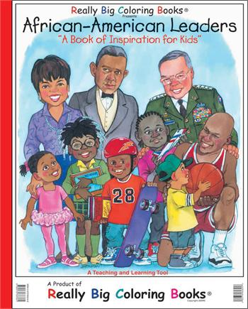 Giant Coloring Book African America