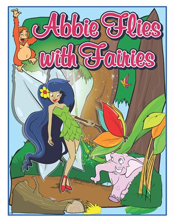 Personalized Flies with Fairies Coloring Book