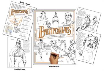 Baltimorials Coloring Book