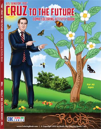 Cruz to the Future™ - Comic Coloring Activity Book