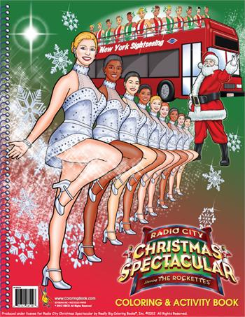 "The Official Radio City Christmas Spectacular starring The Rockettes 2012 (8.5"" x 11"")"