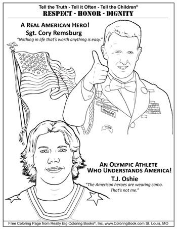 American Hero Remsburg - Olympic Athlete Oshie