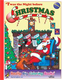Christmas Giant Coloring Book
