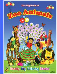 Giant Zoo Animals Book