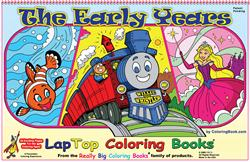 The Early Years LapTop Coloring Book