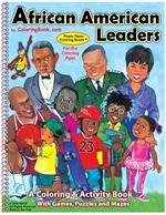 African American Leaders Power Panel Coloring Book
