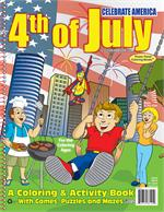 4th of July! Power Panel Coloring Book