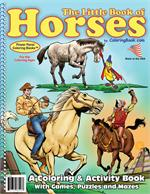 Horses Power Panel Coloring Book