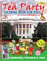 The Tea Party Power Panel Coloring Book