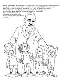 Martin Luther King Jr. Coloring Page