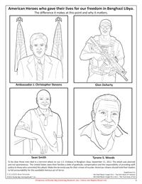 Benghazi Coloring Page