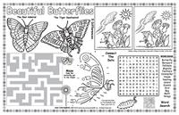 Colorable Placemat