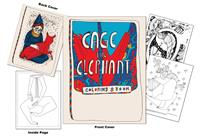 Cage the Elephant Coloring Book