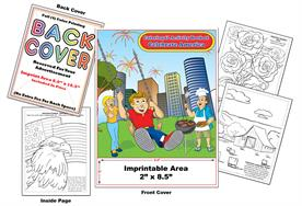 Celebrate America - Imprintable Coloring & Activity Book
