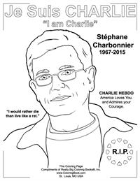 Charlie Hebdo - Free Online Coloring Pages