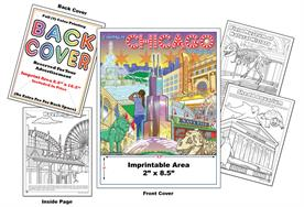 Chicago - Imprintable Coloring & Activity Book
